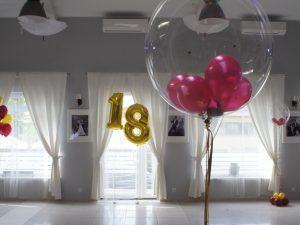 balony na 18stkę, dekoracje balonowe, balony z helem turek, Łódź, Biały Fortepian koło, konin