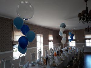 balony na Chrzest, balony na Roczek, balony na wesele, dekoracje balonowe, balony z helem turek, Łódź, Biały Fortepian koło, konin, kalisz