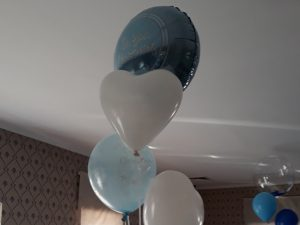 balony na Chrzest, balony na Roczek, dekoracje balonowe, balony z helem turek, Łódź, Ligrana Palace koło, konin, kalisz
