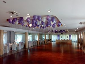 balony na wesele, dekoracje balonowe, balony z helem sala Bernardynka, turek, Łódź, koło, kalisz