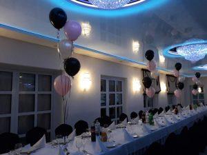 dekoracje balonowe, balony z helem koło, turek, Łódź, konin