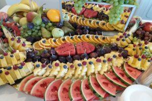 lustra owocowe, lustra z owocami, stół z owocami, fruit carving Koło, Turek, Łódź, Konin, Kłodawa