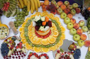 lustra owocowe, lustra z owocami, stół z owocami, fruit carving Koło, Turek, Września, Łódź, Warszawa