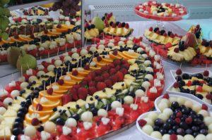 lustro z owocami, lustra owocowe, stół z owocami, fruit carving Koło, Turek, Łódź, Konin, Kalisz, Poznań