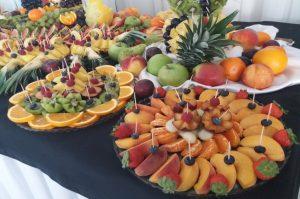 lustro z owocami, lustra owocowe, stół z owocami, fruit carving Turek, Koło, Łódź, Konin, Kalisz, Słupca