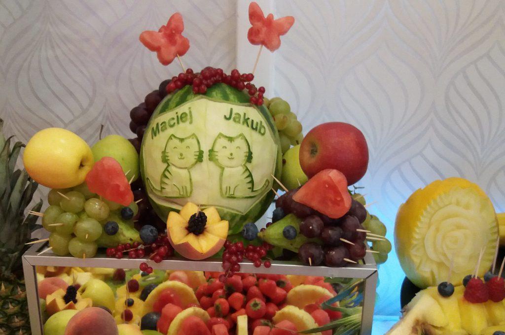 owocowe przyjęcia dla dzieci, fruit party, owoce na imprezę dla dziecka