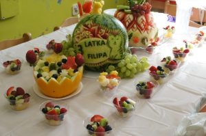 owocowe przyjęcia dla dzieci, fruit party, owoce na imprezę dla dziecka Koło, Konin, Turek, Kłodawa, Sompolno