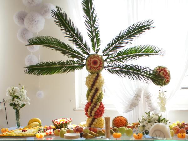 palma owocowa, palma z owocami, palma z owoców Turek, Koło, Konin, Łódź, Poznań, Warszawa