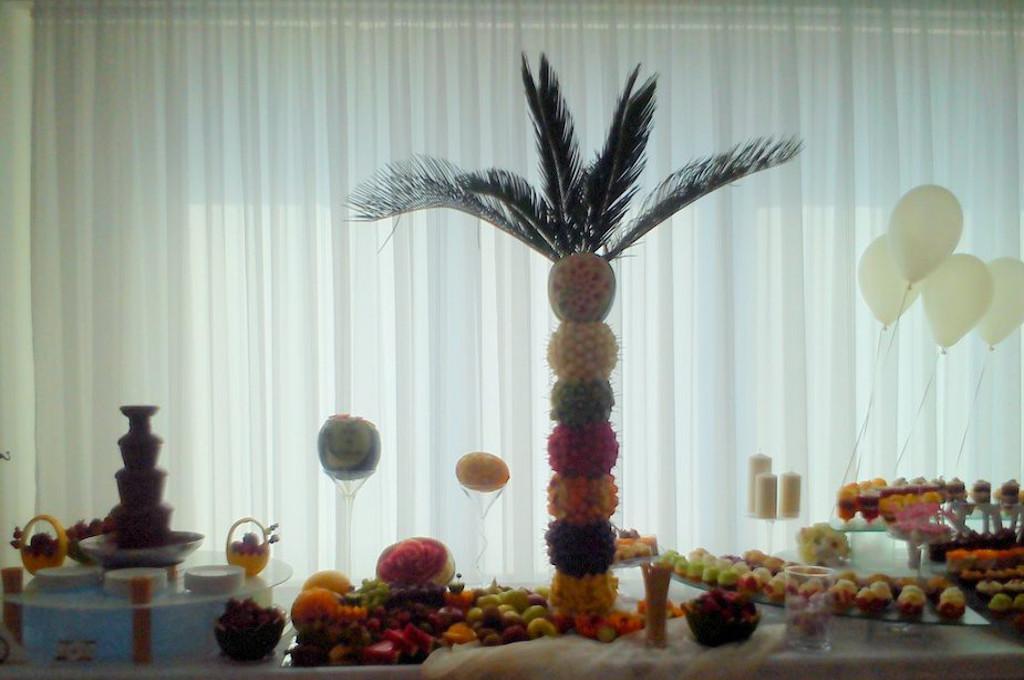 palma owocowa wielka, palma z owoców Koło, Turek, Konin, Łódź, Warszawa, Włocławek Kalisz
