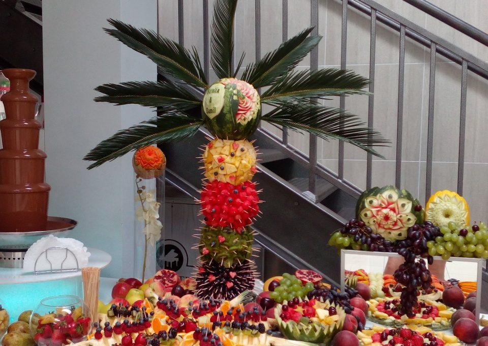 palma z owocami, palma owocowa, palma z owoców Turek, Koło, Konin, Łódź, Poznań, Warszawa