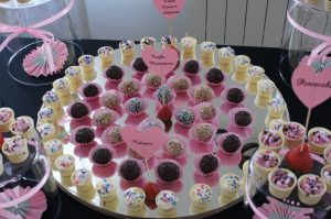 słodkości na wesele, candy-bar, deserki na słodki stół Koło, Turek, Konin, Łódź, Września, Łódź