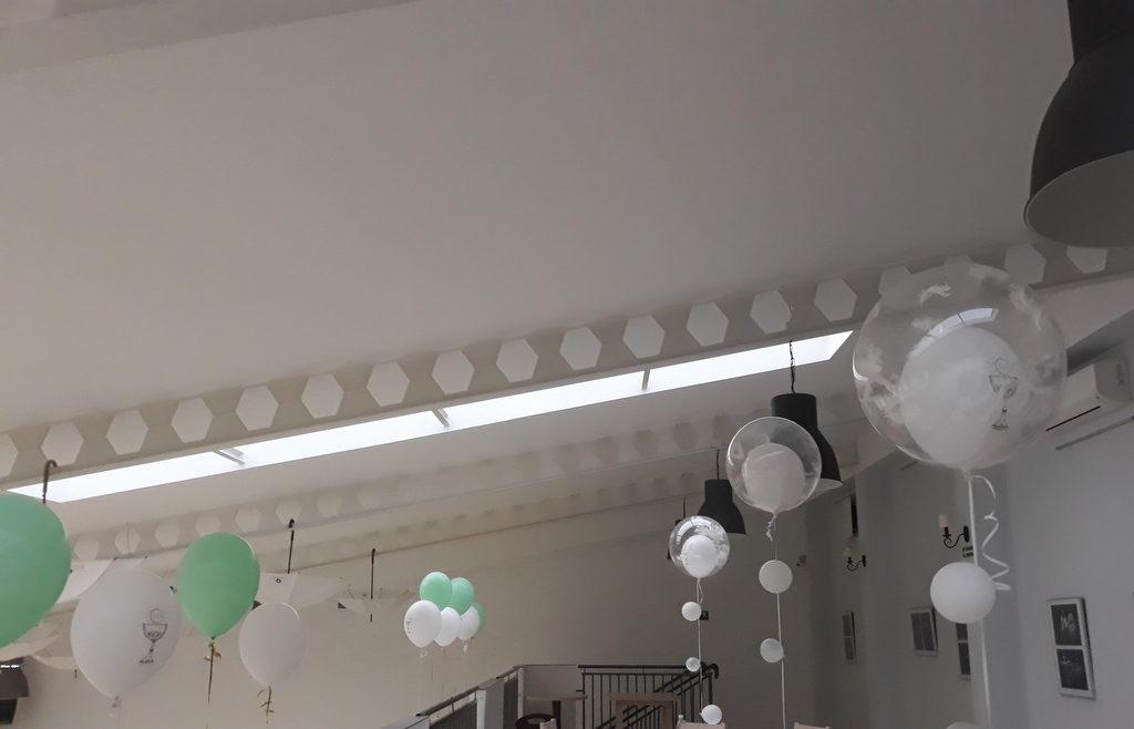 dekoracje na komunię, dekoracje sal na komunię, dekoracje balonowe na komunię Koło, Turek, Konin, Łódź, Słupca