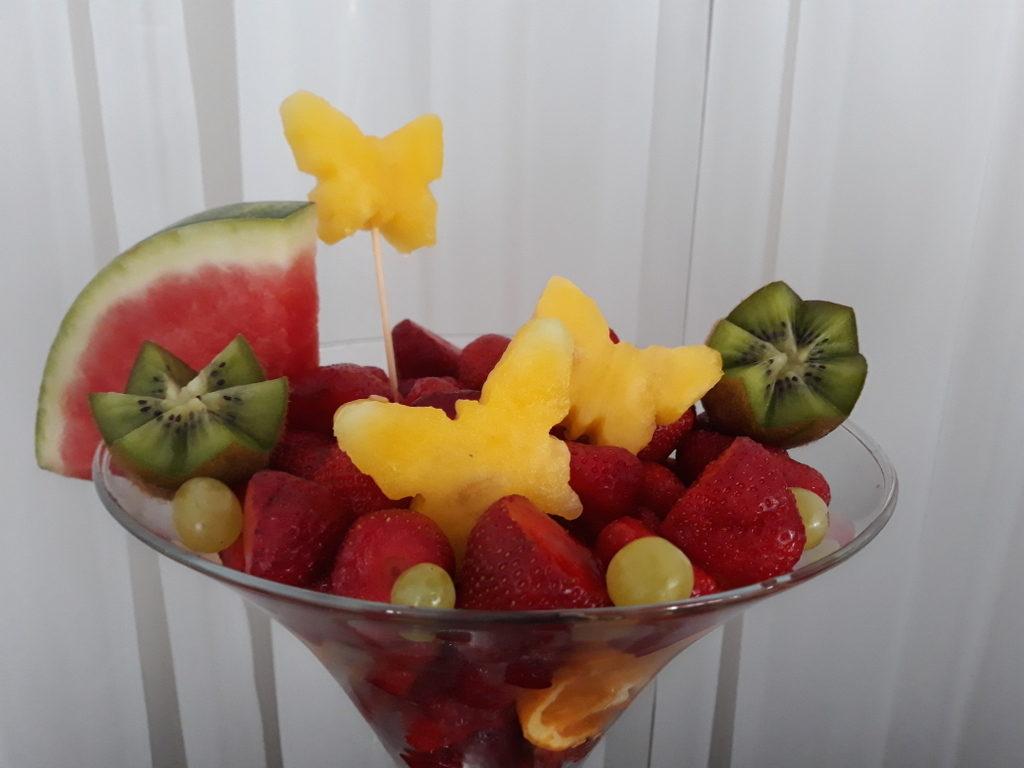 fruit carving, bufet owocowy, stół owocowy, dekoracje owocowe, fruit bar Powidz