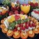 fruit carving, bufet owocowy, stół owocowy, dekoracje owocowe, fruit bar Poznań