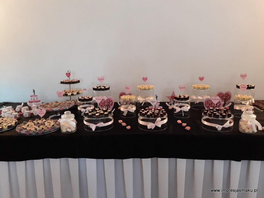 słodki stół, candy bar, Turek, Koło, Konin, Kalisz, Łódź