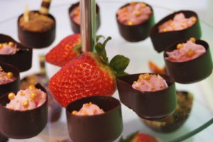 czekoladowe minideserki, słodki bar, deserki czekoladowe, fingerfood, shoot