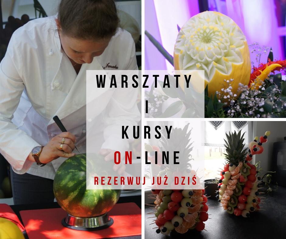 warsztaty i kury fruit carving i dekoracje z owoców on line