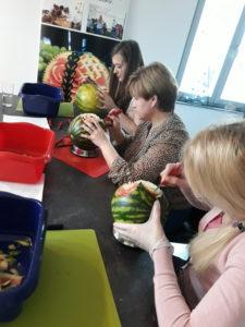 warsztaty dekoracje owocowe, rękodzieło warsztaty,warsztaty fruit carving,