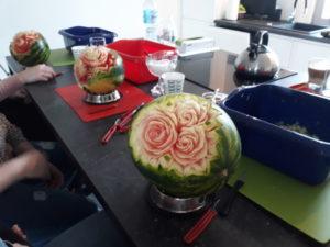warsztaty dekoracje owocowe, warsztaty, rękodzieło, warsztaty fruit carving