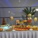 stół owocowy, fontanna czekoladowa, fruit carving, dekoracje owocowe Konin, Turek, Słupca, Września