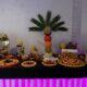 bufet owocowy, fruit carving Biały Dwór, palma owocowa, stół owocowy, dekoracje owocowe,fruit bar,