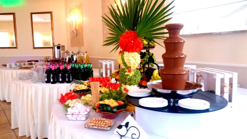 fontanna z czekolady Impresja Pleszew, fontanna czekoladowa Pleszew, palma owocowa Pleszew, Turek, Kalisz-001