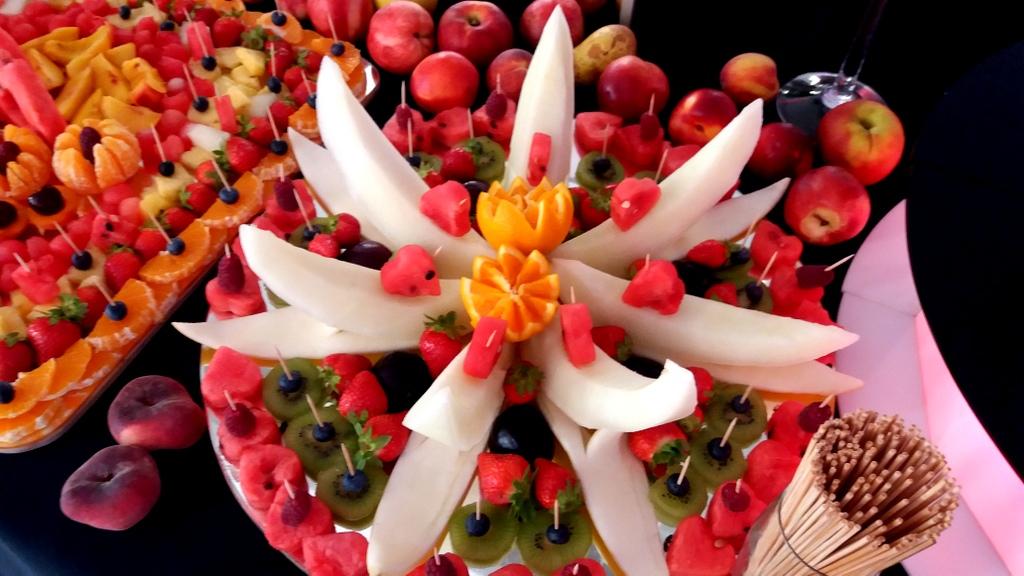 owoce na wesele Biały Dwór Biała Panieńska