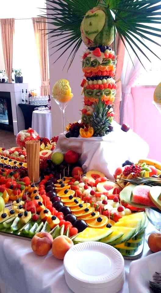 palma owocowa, owoce na wesele, owocowy bar, stół owocowy, dekoracje owocowe, owoce na imprezę, fruit carving,Turek, Konin, Klisz, Łódź